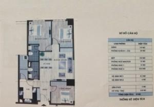 Bán chung cư N01 T2 Ngoại Giao Đoàn căn số 5