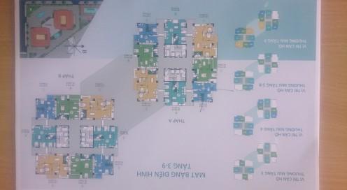 Căn hộ số 6 tầng 3-9 chung cư N04A Ngoại Giao Đoàn