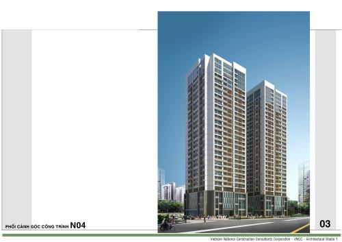 Giới thiệu tòa nhà T2 chung cư N04 Ngoại Giao Đoàn