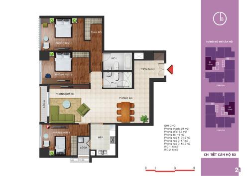 Mở bán căn hộ số 4 tòa T1 N04 Ngoại Giao Đoàn