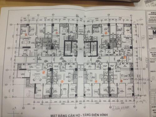 Mô tả căn hộ số 4 chung cư N01 T2 Ngoại Giao Đoàn