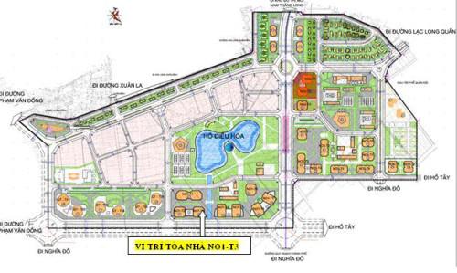 Căn hộ 95m2 chung cư N01-T3 Ngoại Giao Đoàn