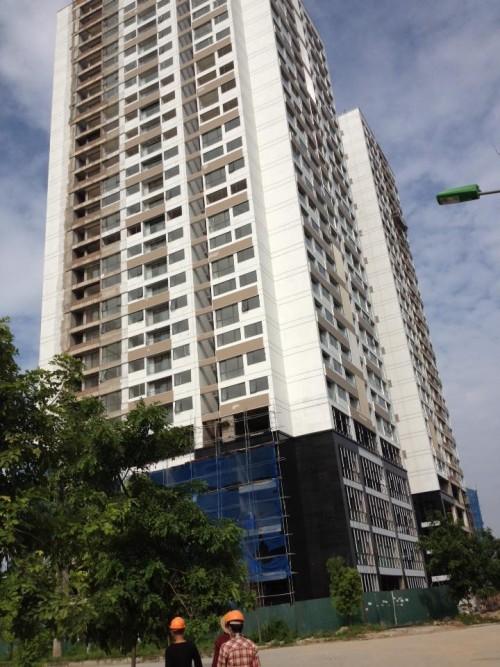 N04B Ngoại Giao Đoàn đã có thông báo bàn giao căn hộ