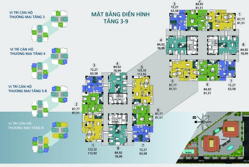 Căn hộ chung cư N02-T1 Ngoại Giao Đoàn vị trí đẹp