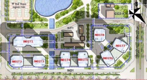 Bán chung cư Ngoại Giao Đoàn N01-T8 căn hộ vị trí đẹp